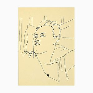 Jean Cocteau, Young Boy, Lithograph, 1930s