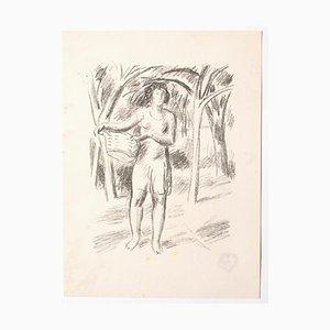 Unknown, Fruit Picker, Lithografie, Mitte des 20. Jahrhunderts