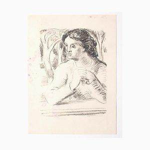 Lithographie, The Woman, Mid-20thth Century