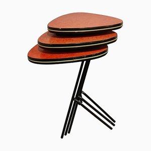 Tables Gigognes Tripodes Vintage, 1960s