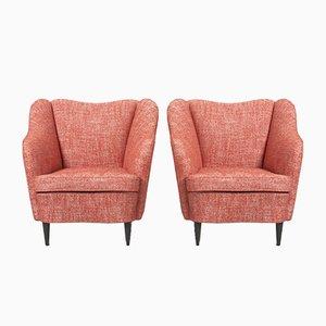 Vintage Italian Lounge Chairs von Gio Ponti für Casa e Giardino, 1938, 2er-Set