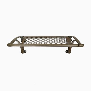 French Metal Luggage or Bathroom Towel Rack No.2
