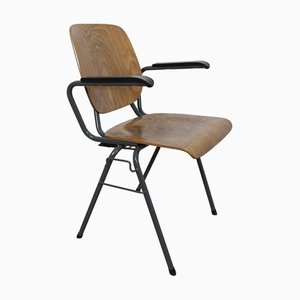 Industrial Stackable Armchair by Kho Liang Ie & Wim Crouwel for CAR Katwijk, 1950s