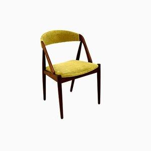 Chaise de Salle à Manger Modèle 31 en Teck par Kai Kristiansen pour Schou Andersen, Danemark, 1960s