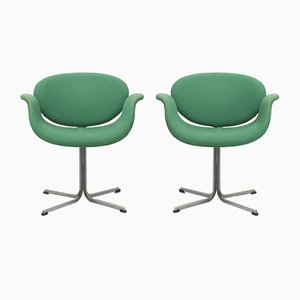 Mid-Century Little Tulip Dining Chairs by Pierre Paulin for Artifort, Netherlands, 1060s, Set of 2