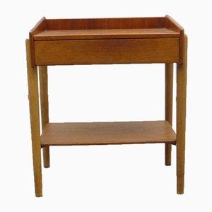 Danish Teak Side Table by Børge Mogensen for Søborg Møbelfabrik, 1960s