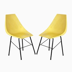 Fibreglass Chairs from Vertex, 1960s, Set of 2