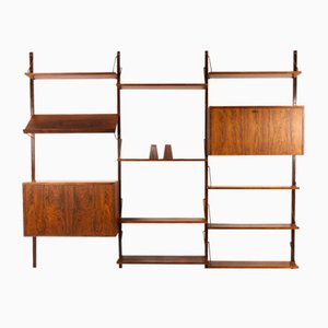 Vintage Danish Rosewood Wall Unit, 1960s