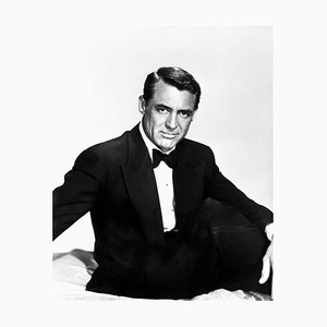 Cary Grant Archival Pigment Print Framed in Black by Everett Collection