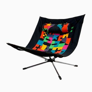 Miamina Chair by Alberto Salviati & Ambrogio Tresoldi for Saporiti, 1980s