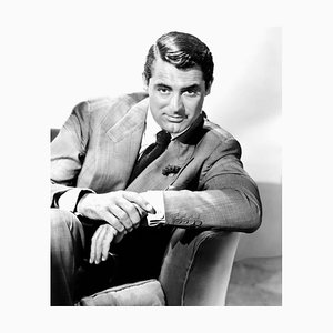 Cary Grant Endears Archival Pigment Print Framed in Black by Everett Collection