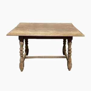 Bleached Oak Coffee or Lamp Table