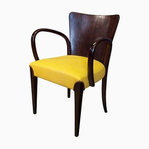 H-214 Dining Chair by Jindřich Halabala for UP Závody, 1920s
