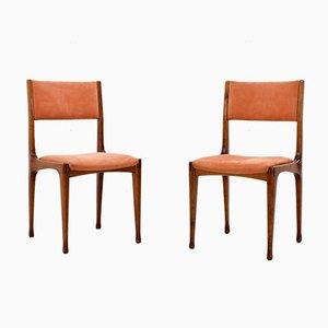 Italienische 693 Esszimmerstühle von Carlo de Carli für Cassina, 1959, 6er Set