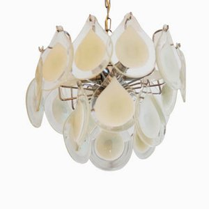 Art Glass Chandelier by Gino Vistosi for Venini