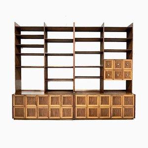 Rosewood Bookcase by Osvaldo Borsani, 1950s