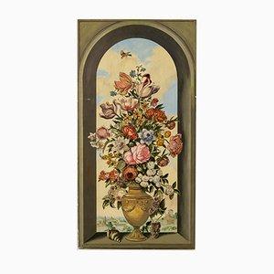 Trompe D 'Euille, Bodegón de flores, Italia