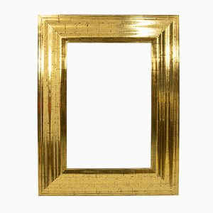 Regency Style Gold Wall Mirror from Deknudt, 1978