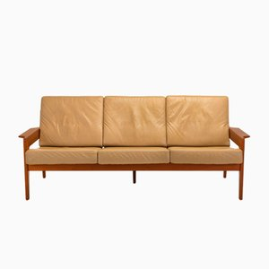 Mid-Century Danish Sofa by Arne Wahl Iversen for Komfort, 1960s