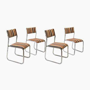 German Side Chairs, 1980s, Set of 4