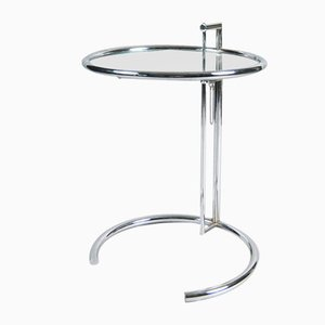E1027 Adjustable Table by Eileen Gray for Vereinigte Werkstätten München / Classicon, 1989