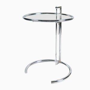 Verstellbarer E1027 Tisch von Eileen Gray für Vereinigte Werkstätten München / Classicon, 1989