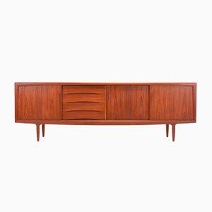 Danish Teak Sideboard by Axel Christensen for ACO Møbler, 1960s