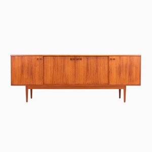 Teak and Oak Sideboard by Christian Linneberg, 1960s