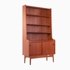 Danish Teak Bookcase by Johannes Sorth for Nexø, 1960s