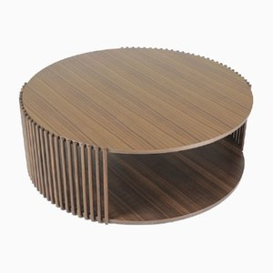 Palafitte Coffee Table in Canaletto Walnut by Debona Demeo for Medulum