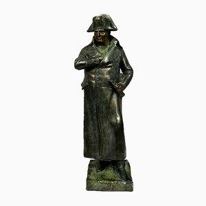Sculpture En Bronze Patiné Empire