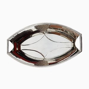 Art Deco Silver Bowl from WMF, 1920s