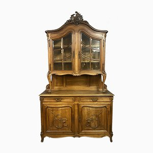 Buffet Luis XV de madera maciza