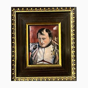 Pierre Bonnet, French School Napoleon Bonaparte Painting, Porcelain