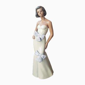 Figurine de Femme en Porcelaine de Nao Lladro, 1970s