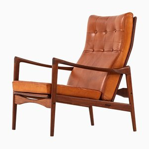 Swedish Easy Chair Model Örenäs by Ib Kofod-larsen for OPE