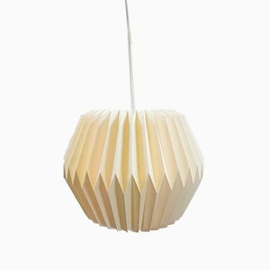 Vintage Paper Origami Lantern Pendant Lamp, Italy