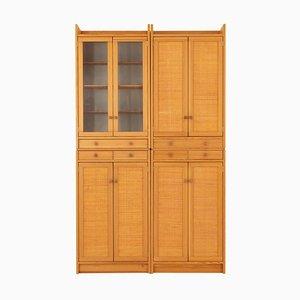 Mid-Century Modern Swedish Pine Cabinet Modell Furubo von Yngve Ekström