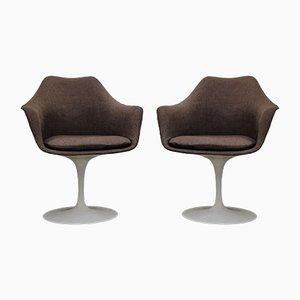 Sedie Tulip di Eero Saarinen per Knoll International, set di 2