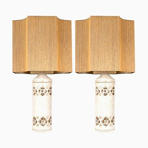 Table Lamps by Bitossi for Bergboms, Set of 2