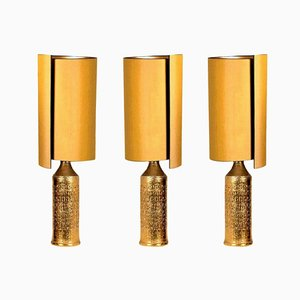 Table Lamps by Bitossi for Bergboms, Set of 3