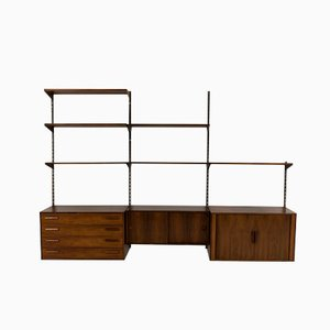 Wall-Mounted Shelving Unit by Kai Kristiansen for FM Møbler
