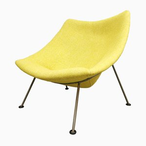 Vintage Dutch Oyster Easy Chair by Pierre Paulin for Artifort