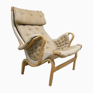 Scandinavian Vintage Lounge Chair by Bruno Mathsson