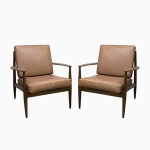 Mid-Century Danish Lounge Chair by Grete Jalk for France & Son / France & Daverkosen