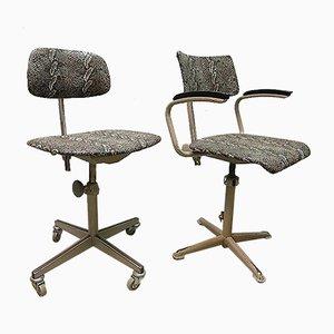 Silla de escritorio industrial vintage de Friso Kramer