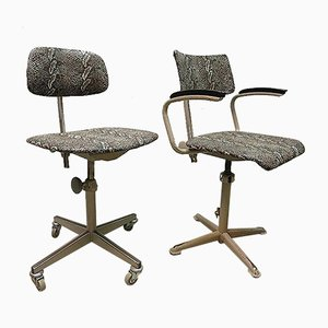 Vintage Industrial Desk Chair by Friso Kramer