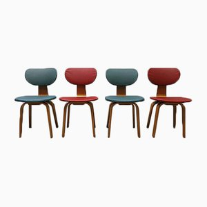Set de Chaises de Salon Mid-Century de Pastoe, Pays-Bas