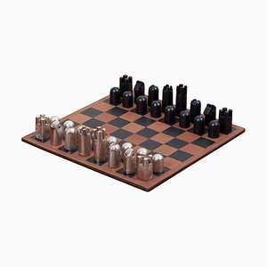 Jeu d'échecs moderniste # 5606 par Carl Auböck