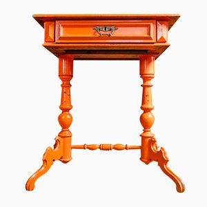 Swedish Sewing Table with Drawer, 1900s